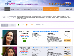 asknow psychics