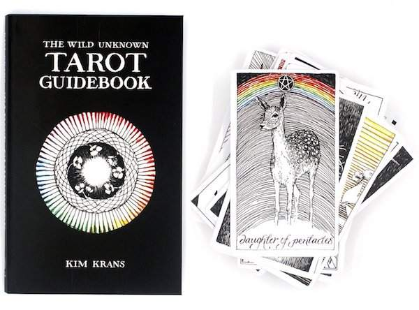 wild tarot guide book