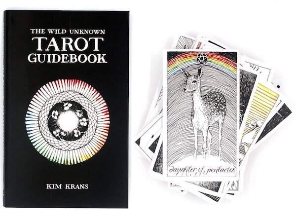 wild tarot guide book